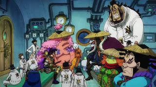 ワンピースアニメ 990話 ワノ国編   ONE PIECE ハートの海賊団