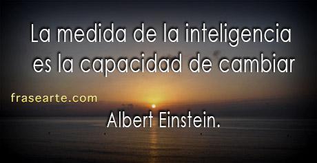 La medida de la inteligencia - Albert Einstein