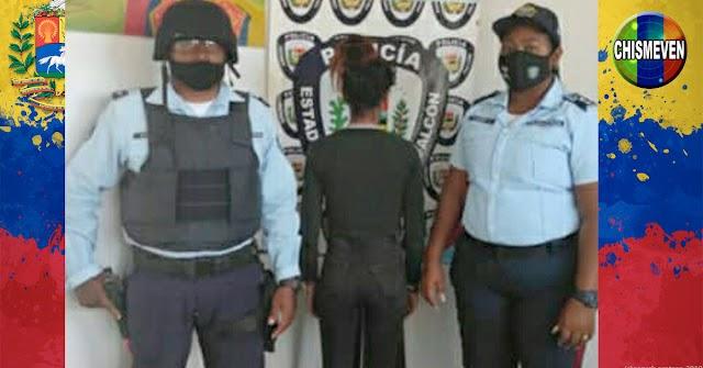 Detenida peligrosa peluquera por caerle a golpes a una adolecente en Tucacas