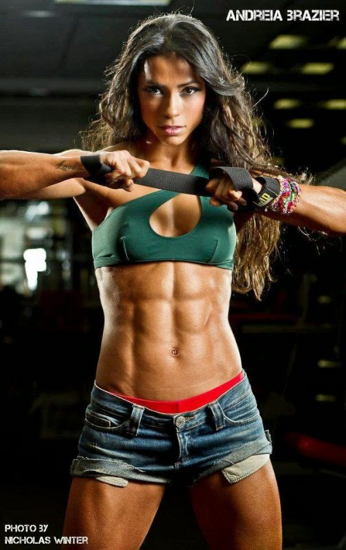 Andreia Brazier-female muscle beauties-female fitness models