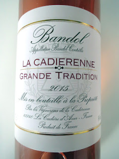 La Cadierenne Cuvée Grande Tradition Bandol Rosé 2015 - AC, Provence, France (89 pts)