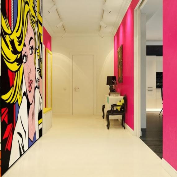 Home lifestyle decoraci n el estilo pop art for Modern 90s house music