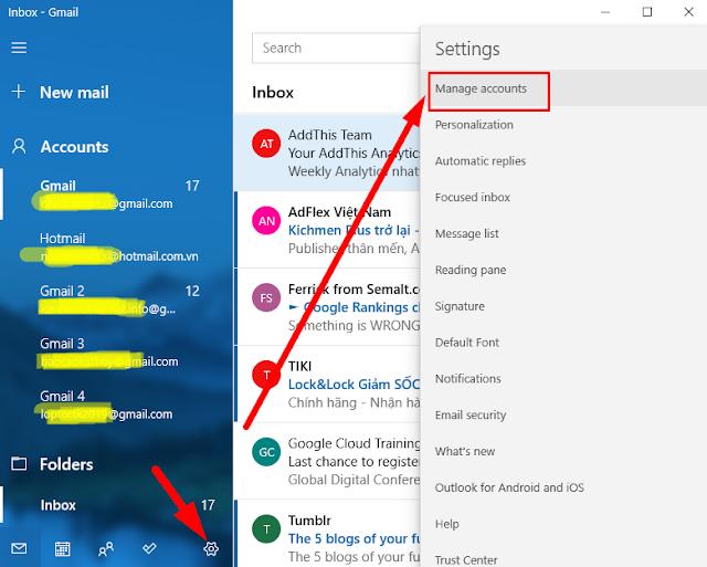 Sử dụng Mail (Thư) Windows 10 tiện lợi nhất mà ai cũng phải biết