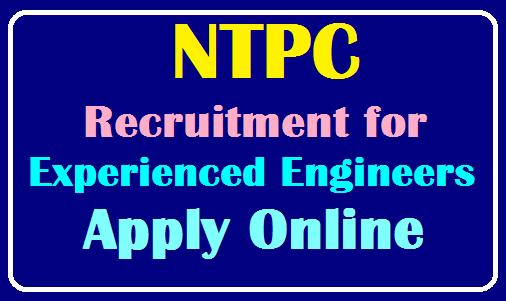NTPC Recruitment for Experienced Engineers 203 Vacancies Apply Online at www.ntpccareers.net /2019/08/NTPC-Recruitment-for-Experienced-Engineers-203-Vacancies-Apply-Online-at-www.ntpccareers.net.html