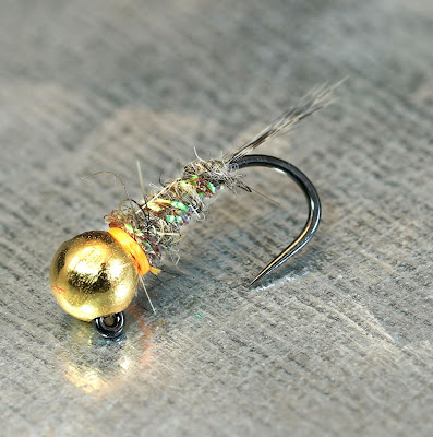 Fly Fish Food -- Fly Tying and Fly Fishing : Hare Bomb - Hare's Ear Variation