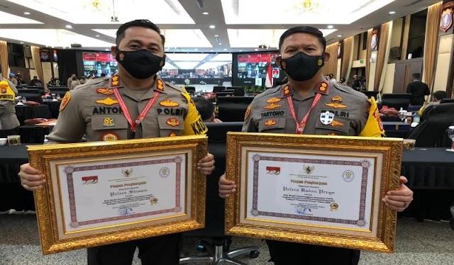Polres Sleman & Polres Kulonprogo Raih Penghargaan Pelayanan Prima dari Kapolri