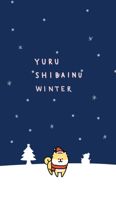 yuru shibainu winter theme.