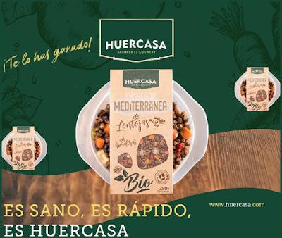 Tvbio ofrece probar gratis ensalada de lentejas Huercasa