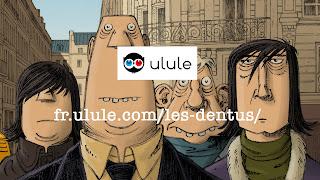 La page Ulule des Dentus