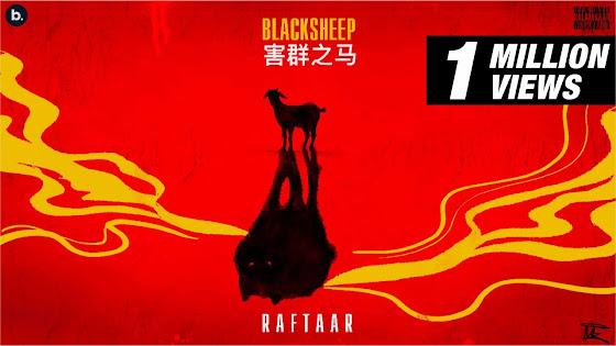 BLACK SHEEP SONG LYRICS - RAFTAAR | BAR'ISH EP Lyrics Planet
