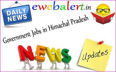 Government Jobs in Himachal Pradesh