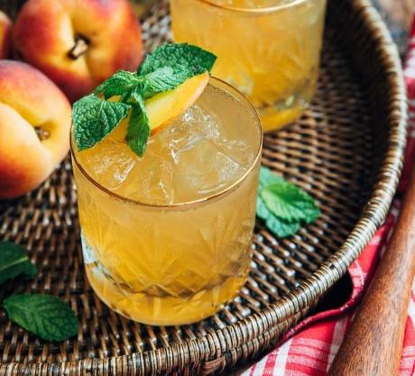 Bourbon Peach Smash