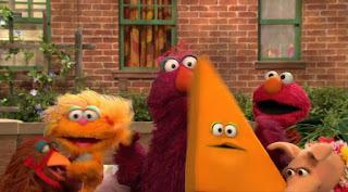Telly, Elmo, Zoe, Triangle Dance, Sesame Street Episode 4311 Telly the Tiebreaker season 43