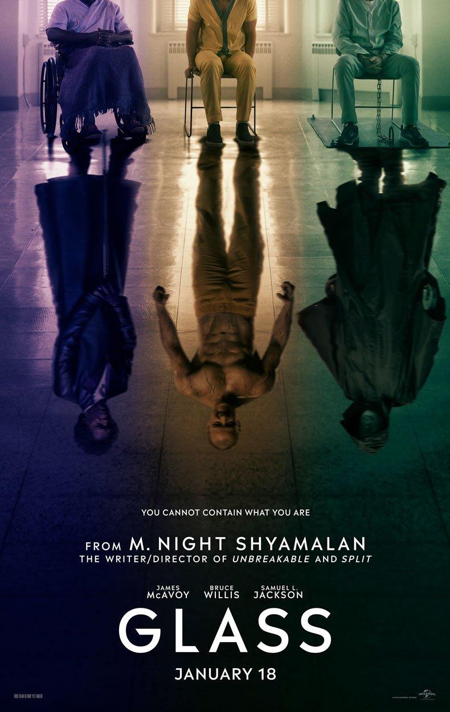 glass film recenzja shyamalan willis jackson mcavoy