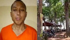 Cai Changpan ditemukan di gudang pembakaran ban Jasinga Bogor