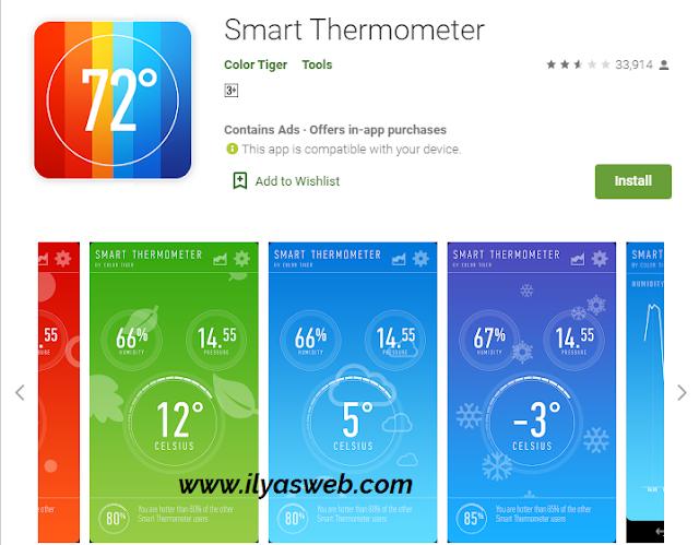 Suhu alias temperatur udara merupakan sesuatu hal yang sangat penting sekali 2 Aplikasi Pengukur Suhu Ruangan Terbaik di Android