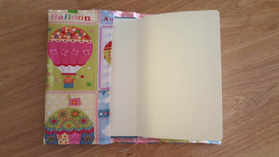 Hot Air Balloons notebook cover
