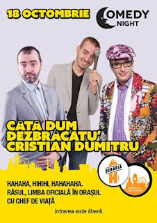 Stand-up Coemdy Marti 18 Octombrie Bucuresti Beraria H
