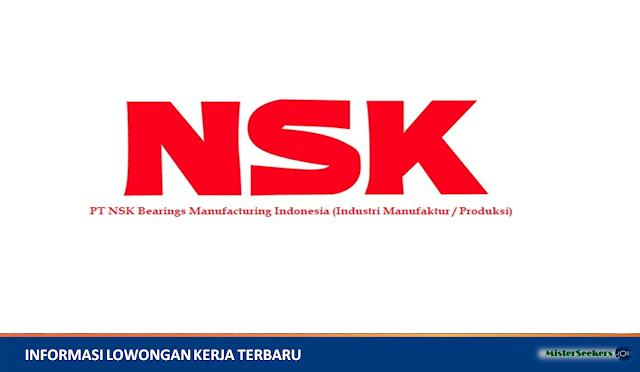 Lowongan Kerja PT NSK Bearings Manufacturing Indonesia (Industri Manufaktur / Produksi)