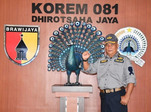 Jelang Purna, Lettu Inf Erwan : Jaga Kecintaan dan Kebanggaan Rakyat Indonesia Terhadap TNI