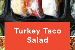 TURKEY TACO SALAD MEAL PREP