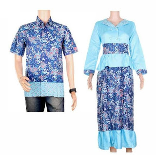model baju batik couple pesta trendi