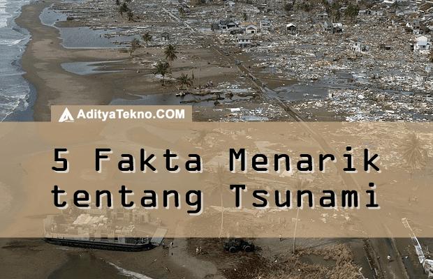 fakta menarik tentang tsunami yang jarang diketahui