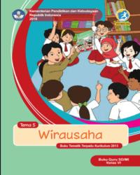 Buku tema 5 Guru Kelas 6 k13 2018