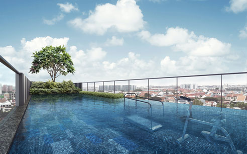 Parkwood Residences Roof Top Pool