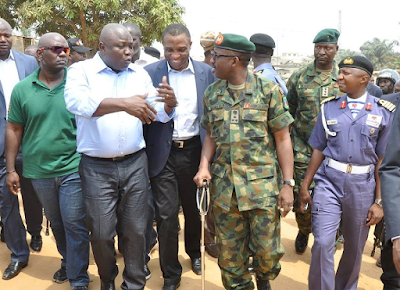 Gov Ambode inspects communities in Ikorodu LCDA, orders security forces to clampdown on criminals (see photos)