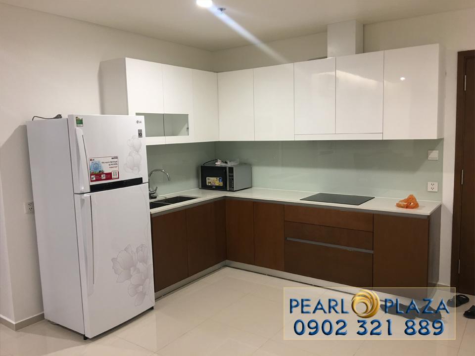 Pearl Plaza Bình Thạnh - view bếp