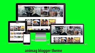Animag – Free Blogger Theme  - Responsive Blogger Template
