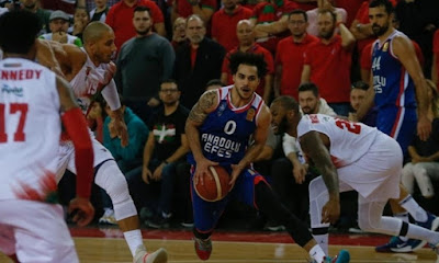 ING Basketbol Süper Ligi - Pınar Karşıyaka - Anadolu Efes - Shane Larkin