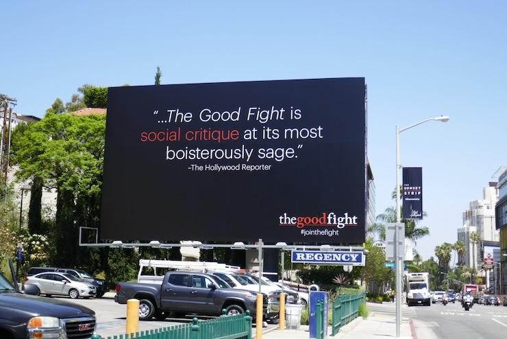 Good Fight 2020 Emmy FYC billboard