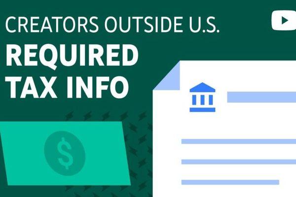 يوتويب ستبدأ في خصم الضرائب الأمريكية على المستخدمين خارج الولايات المتحدة (فيديو)