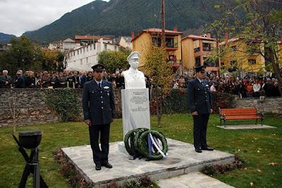 10 χρόνια από το θάνατο του Ηπειρώτη ιπτάμενου Σμηναγού Παντελή Γκέλη εν ώρα καθήκοντος