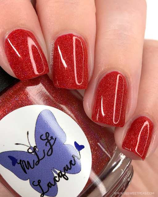 MLF Lacquer Home of the Brave 25 Sweetpeas