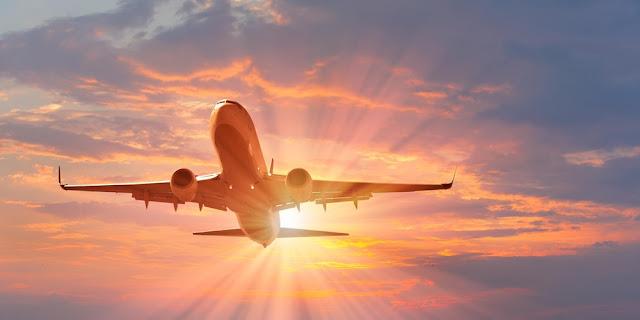 Tempo de avião até Washington