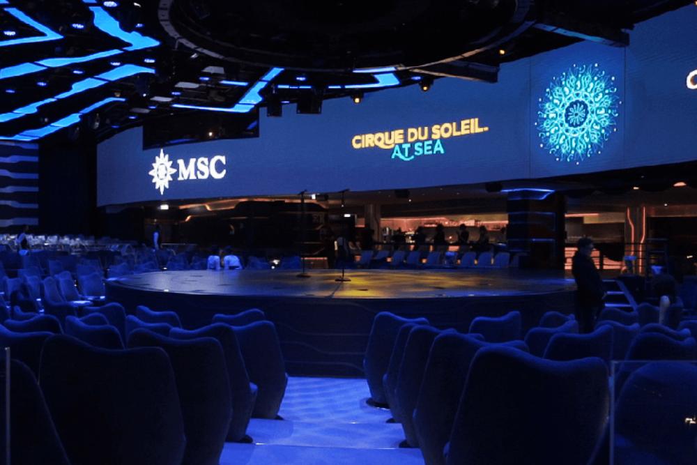 MSC Meraviglia Cirque du Soleil at Sea! Das ist die beste Show auf einem Kreuzfahrtschiff