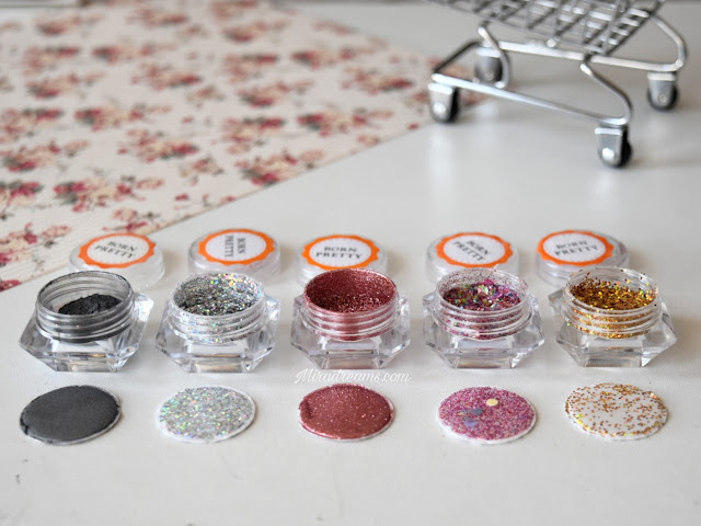 Les Nail Glitters/Powder/Sequins