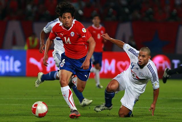 Chile y Paraguay en Clasificatorias a Brasil 2014, 15 de noviembre de 2011