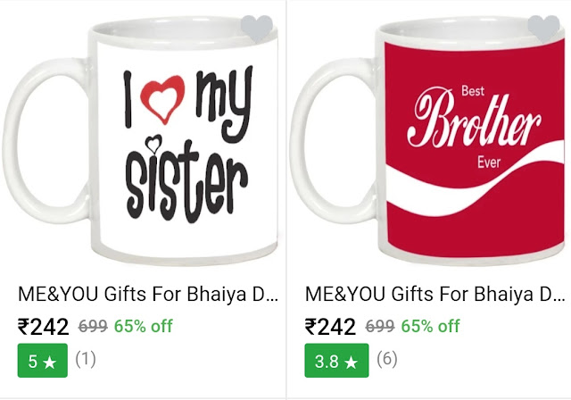 Bhai Dooj Gifts Online For Brother and Sister
