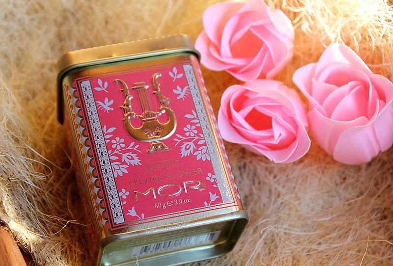Мыло для принцесс, с ароматом цветка личи MOR Little Luxuries Lychee Flower Soapette / отзывы
