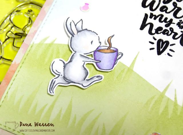 Dana Warren - Kraft Paper Stamps - The Cat's Pajamas