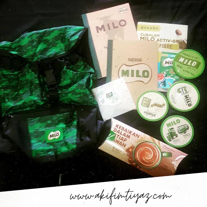 Akhirnya Hadiah Contest Milo Home Tester Club Selamat Di Terima