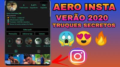 Nova Atualização do Instagram Aero 9.0 – 2020