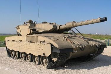 tank terbaik Israel