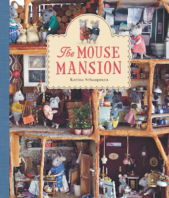 The Mouse Mansion, part of children's book review list about mice