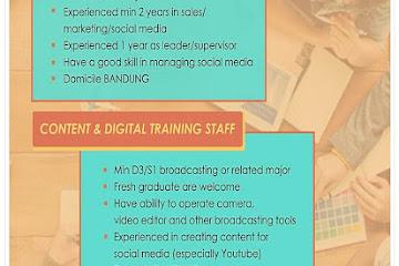 Lowongan Kerja Bandung Marketing Division