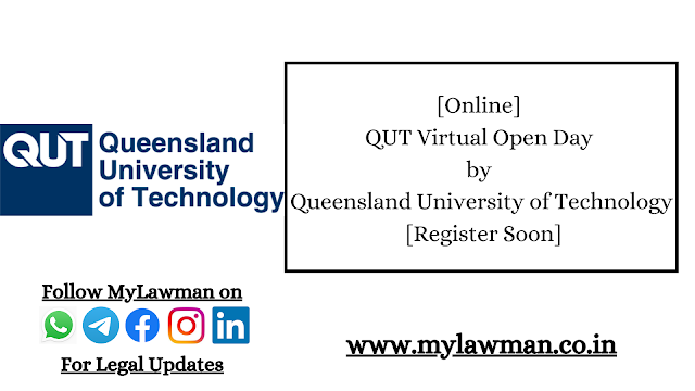 [Online] QUT Virtual Open Day by Queensland University of Technology [Register Soon]